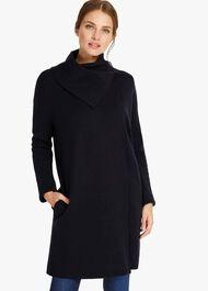 Paloma Plain Knitted Coat