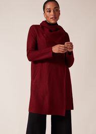 Bellona Level Hem Knit Coat