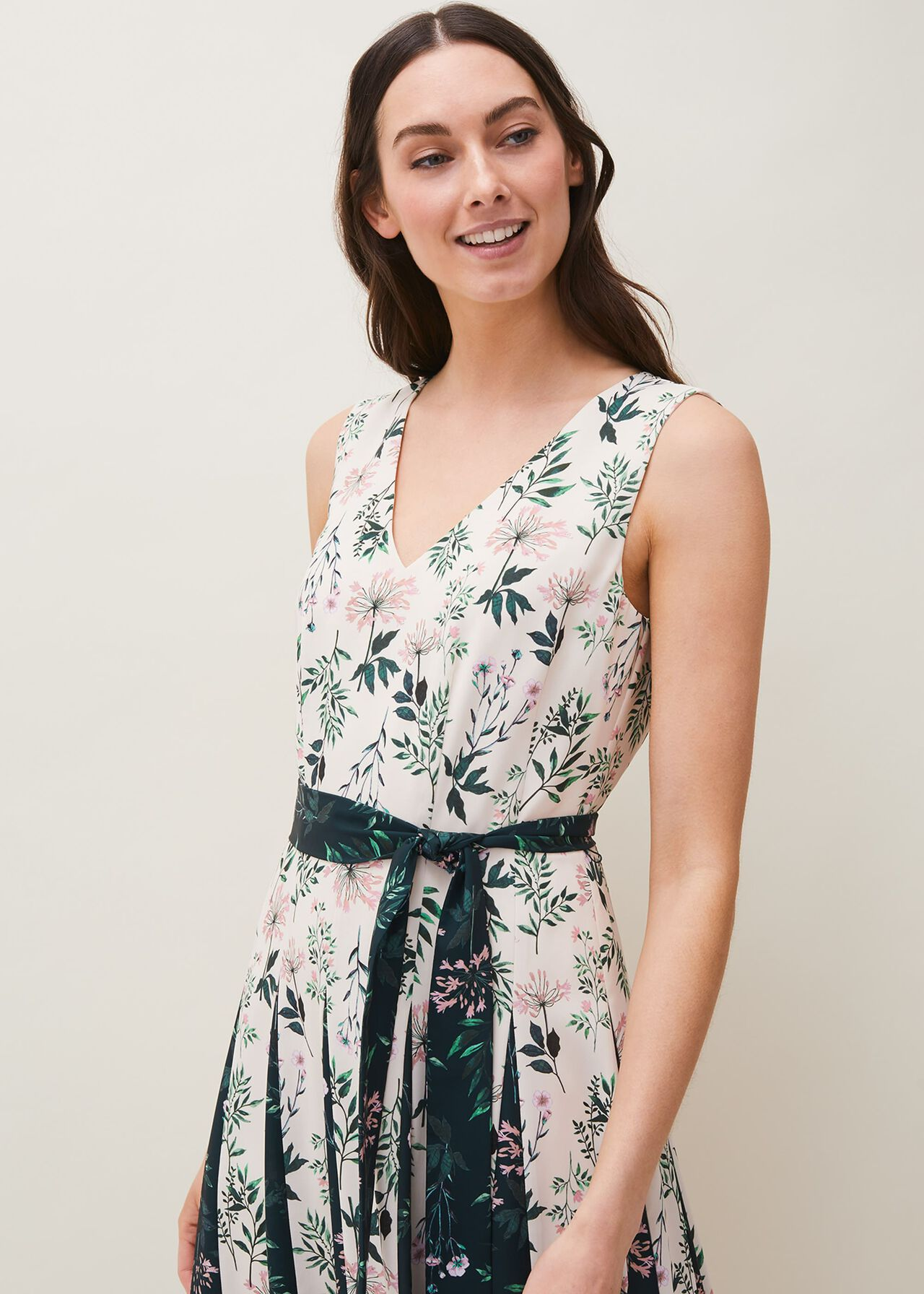 Bernita Floral Fit And Flare Dress