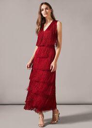 Kandice Fringe Dress