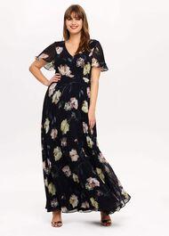 Megan Floral Maxi Dress