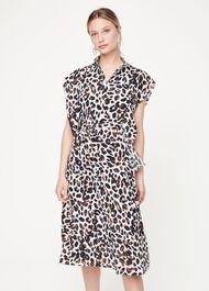 Trudy Leopard Print Dress