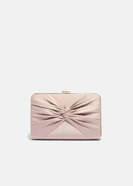 Kendall Satin Clutch Bag