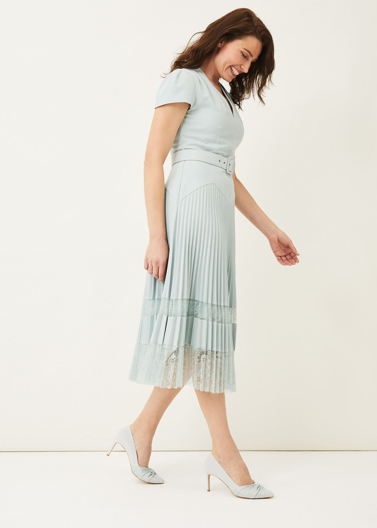 ${product-id}-Hannah Pleated Lace Insert Dress--${view-type}