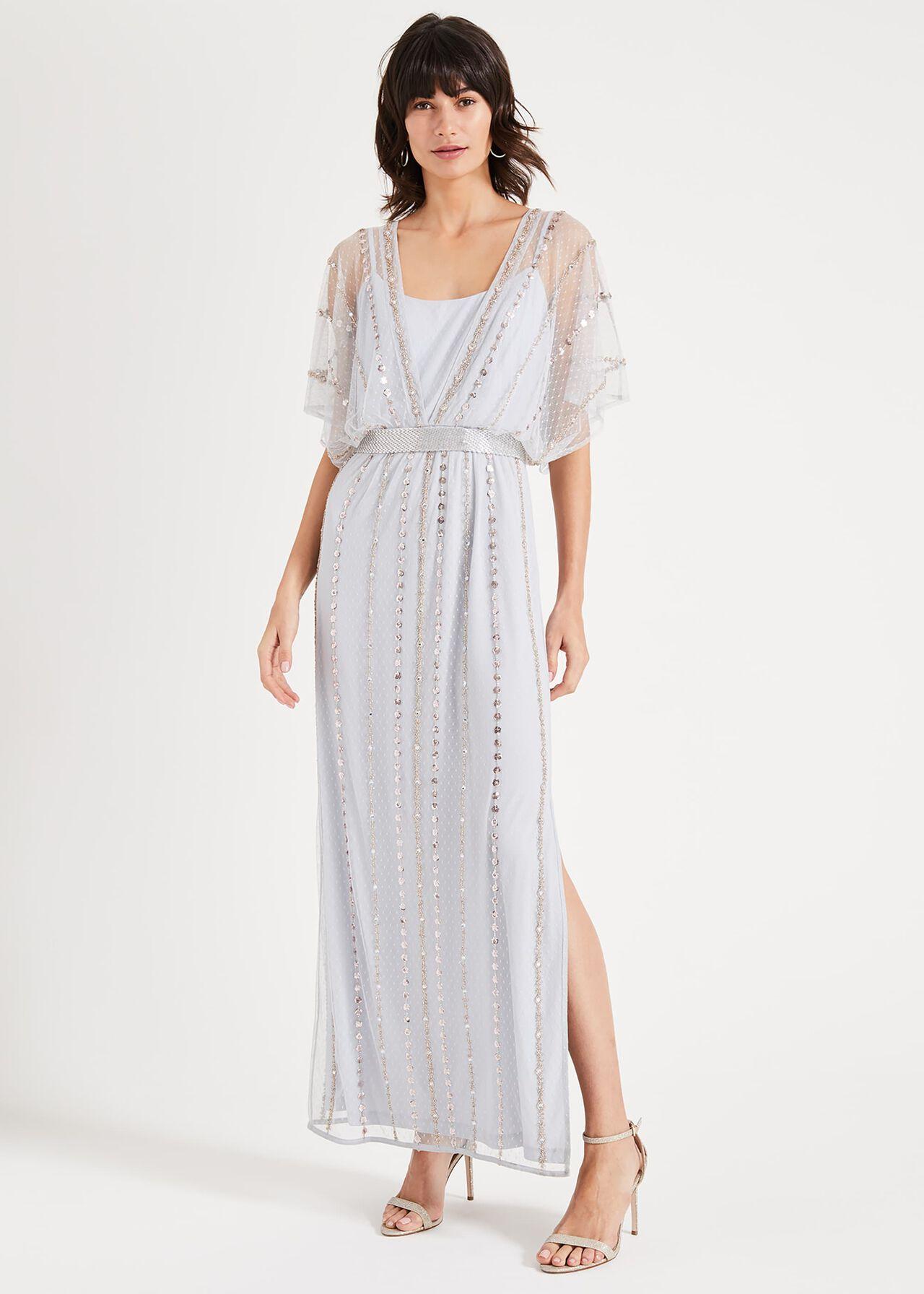 Daniela Beaded Maxi Dress
