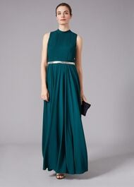 Nicola Embroidered Maxi Dress