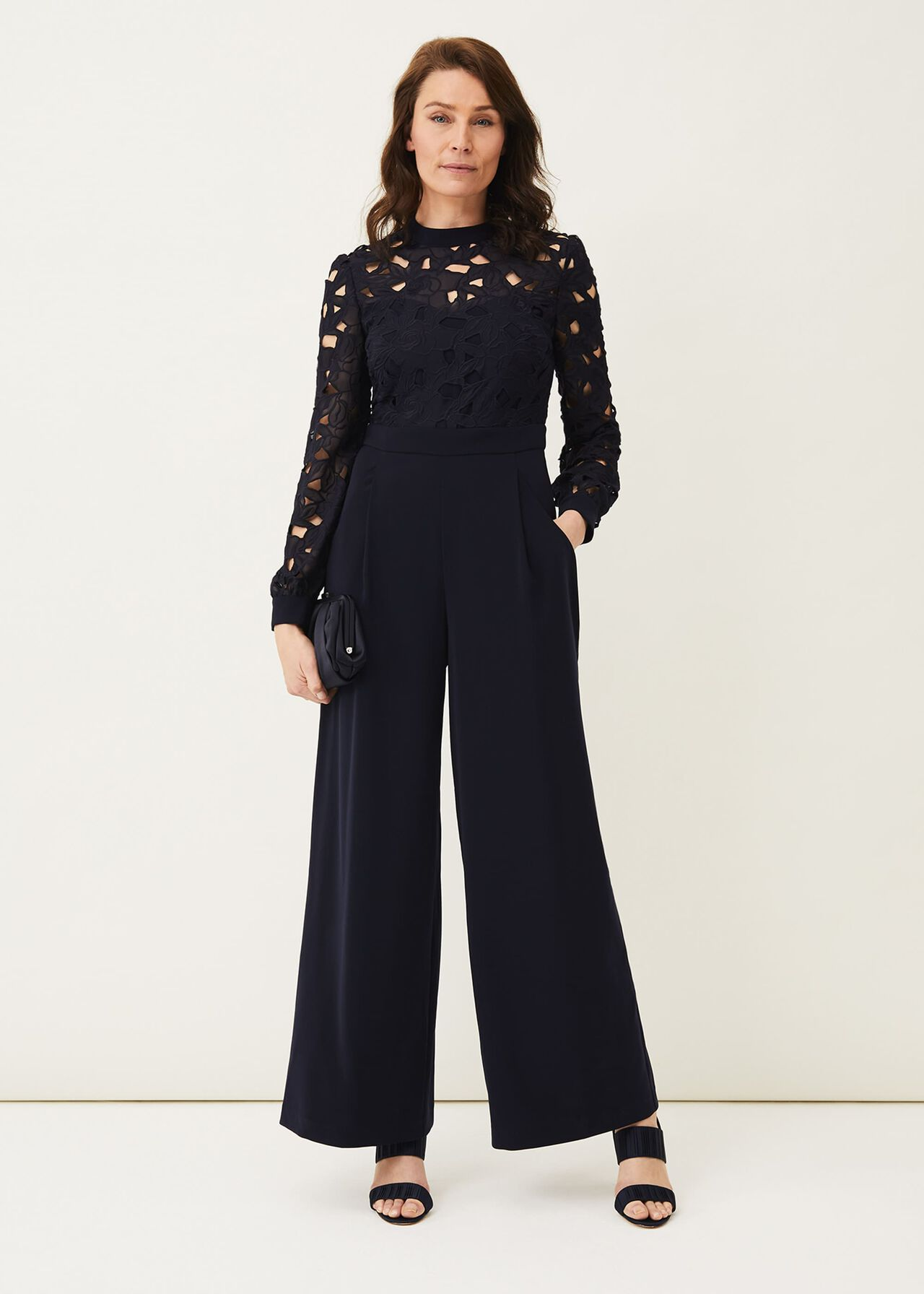 ${product-id}-Gayle Lace Bodice Jumpsuit--${view-type}
