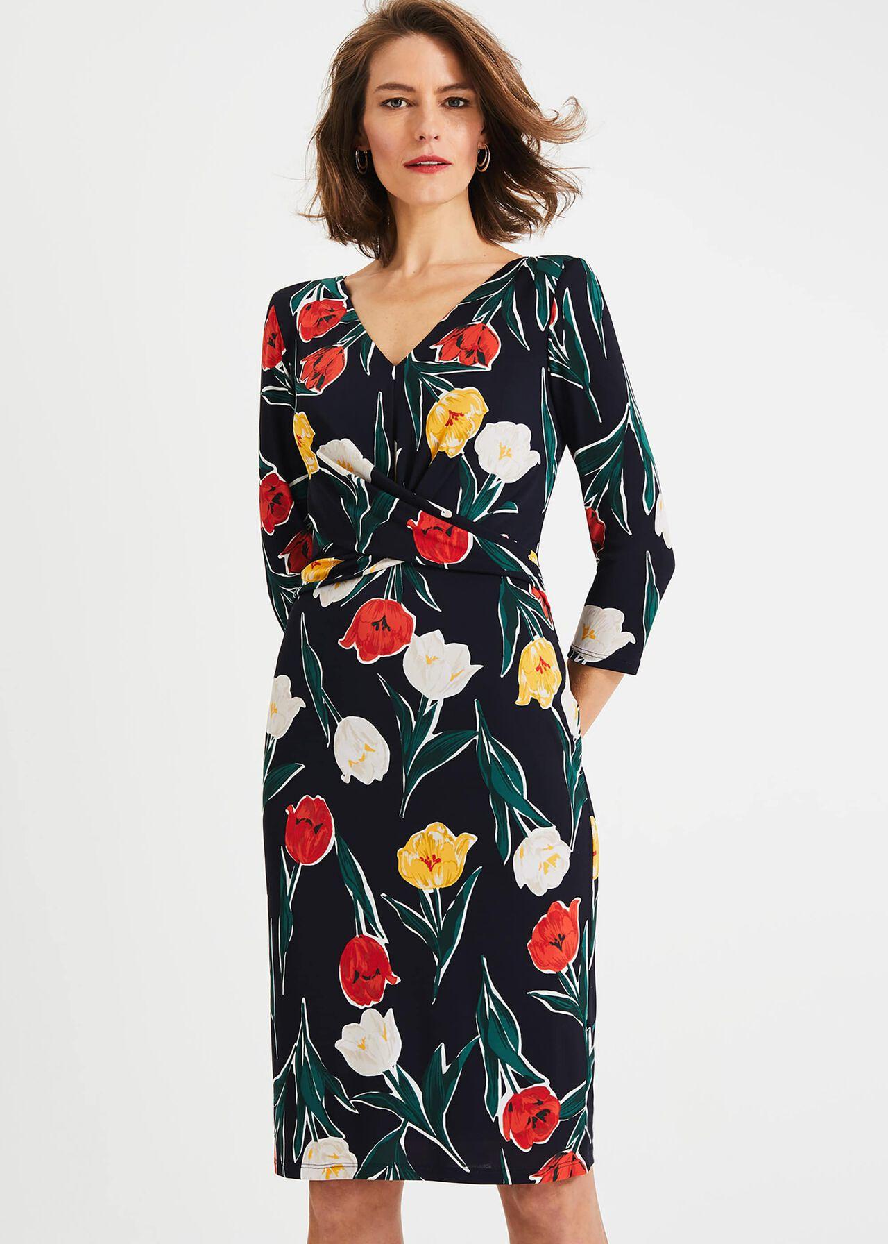 Nicole Printed Dress