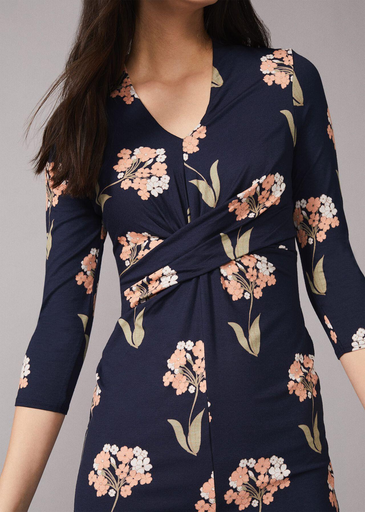 Monica Floral Jersey Dress