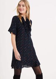 Sarah Star Frill Dress