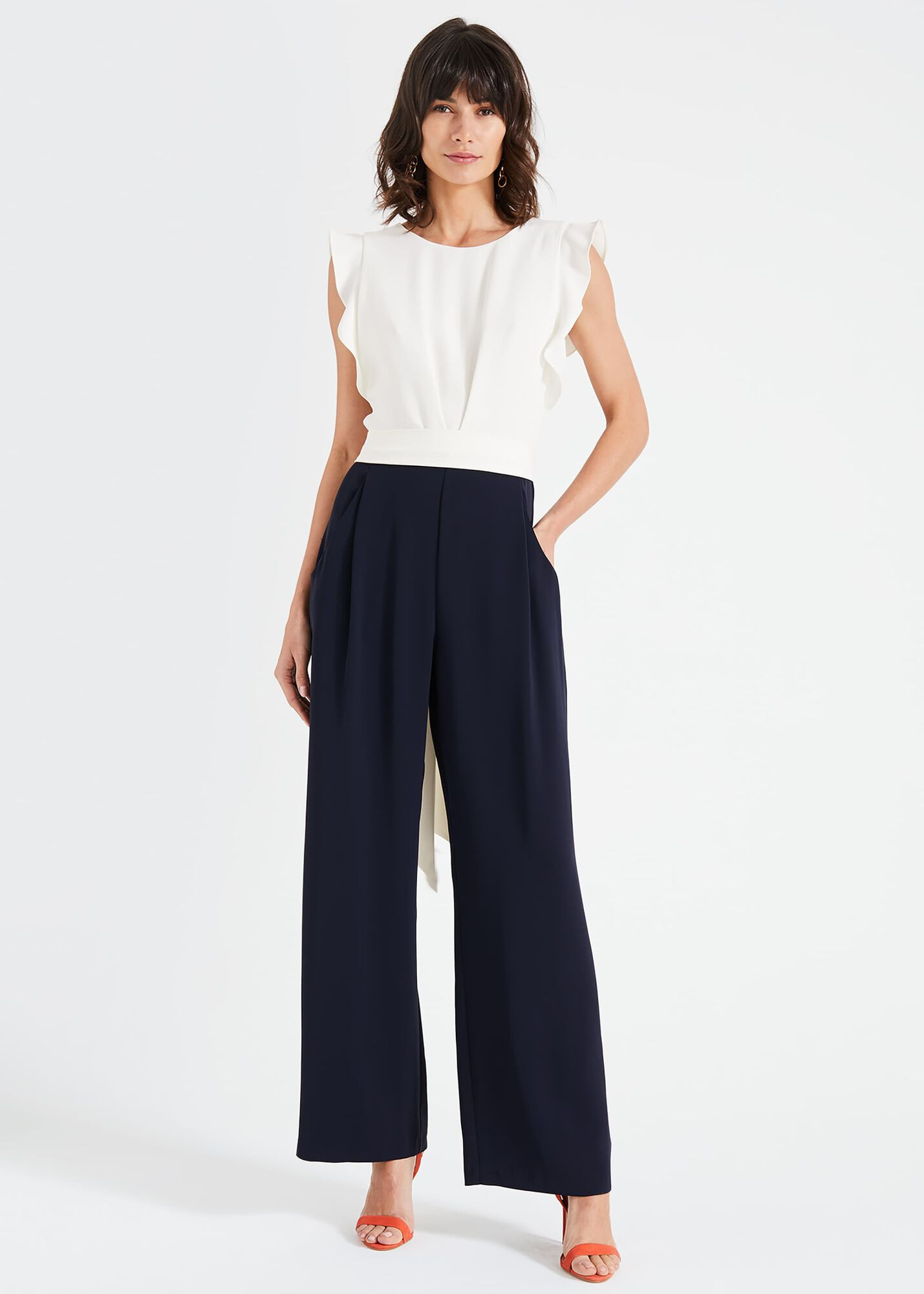 f7b970f864 Victoriana Jumpsuit | Phase Eight | Phase Eight
