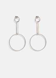 Yasmina Circle Drop Earrings