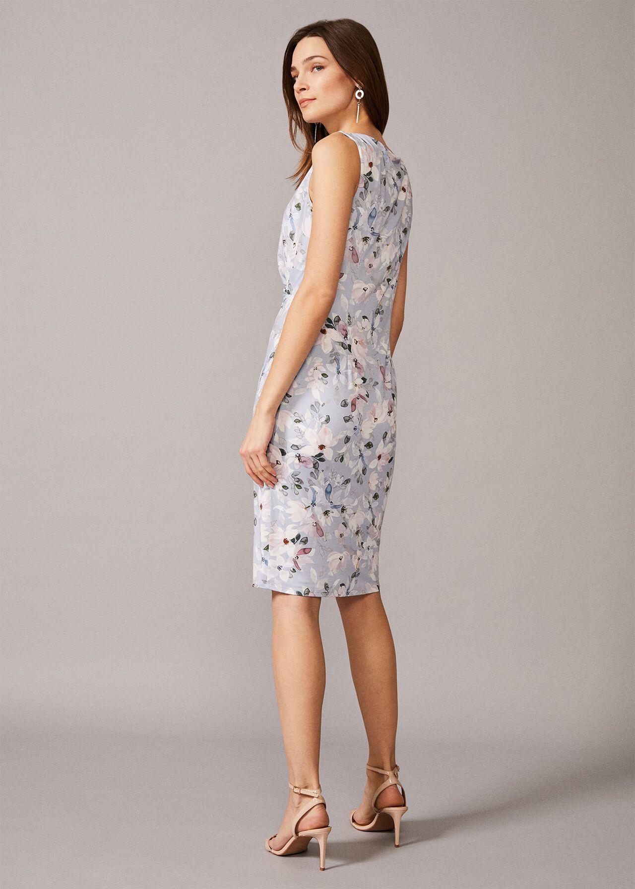 Etta Floral Jersey Dress