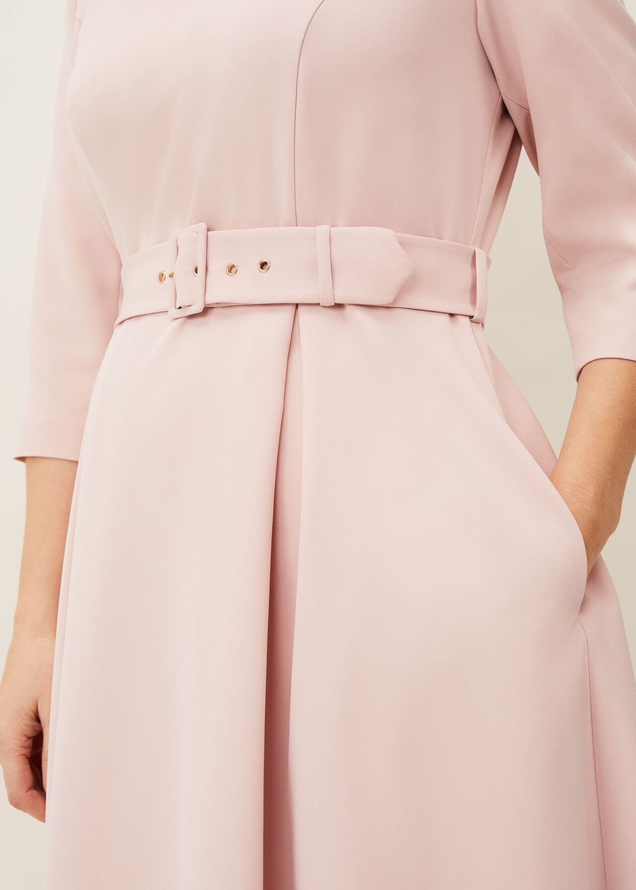 Margot Belted Dress