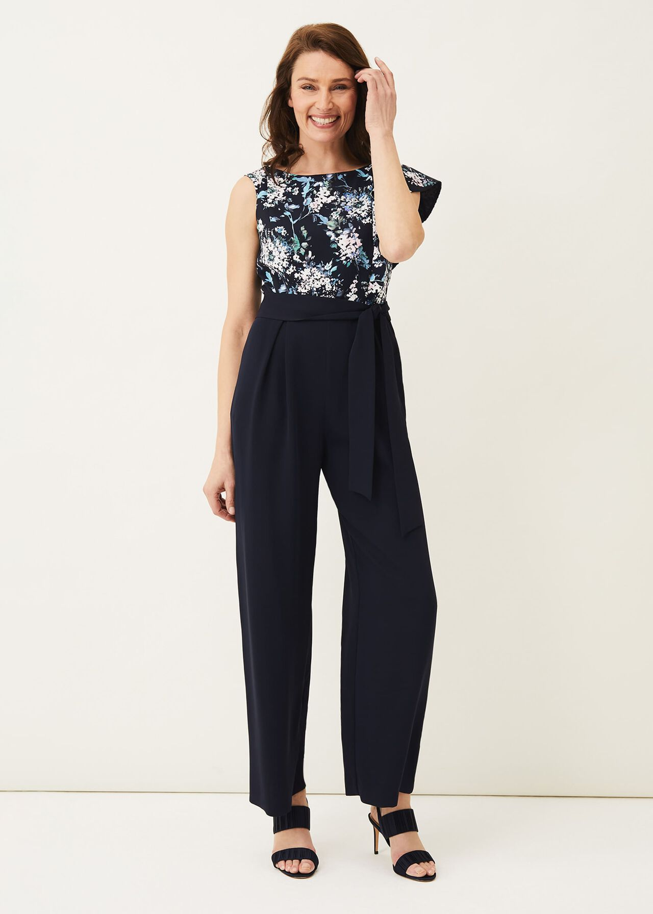 ${product-id}-Casey Floral Bodice Tapered Jumpsuit--${view-type}
