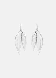 Bryony Leaf Drop Earrings