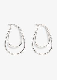 Nala Double Row Hoop Earrings
