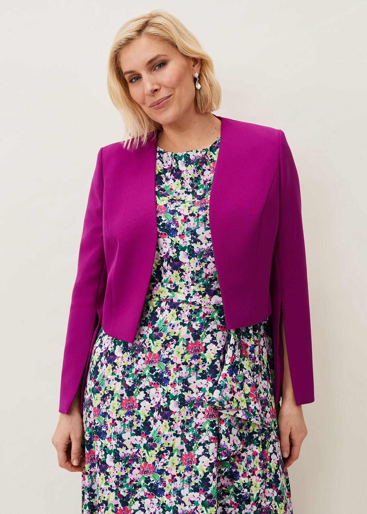 Bridget Split Sleeve Occasion Jacket