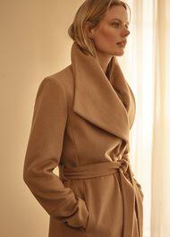 Nicci Belted Wool Coat
