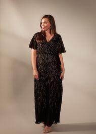 Hermosa Beaded Maxi Dress