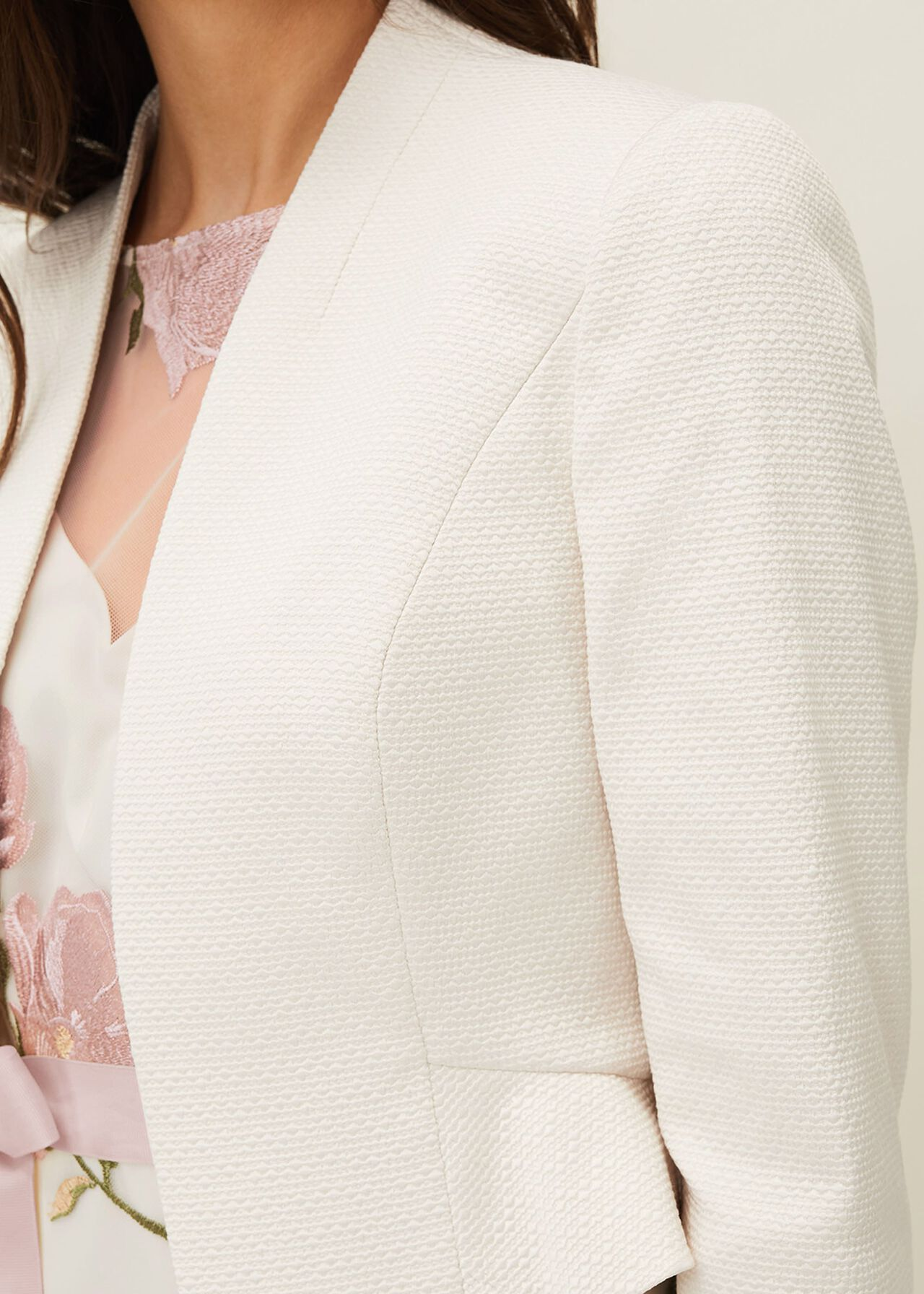 Aisha Textured Jacket