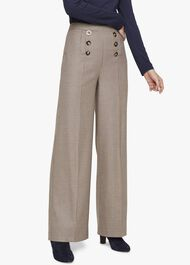 Beatrix Heritage Check Trousers