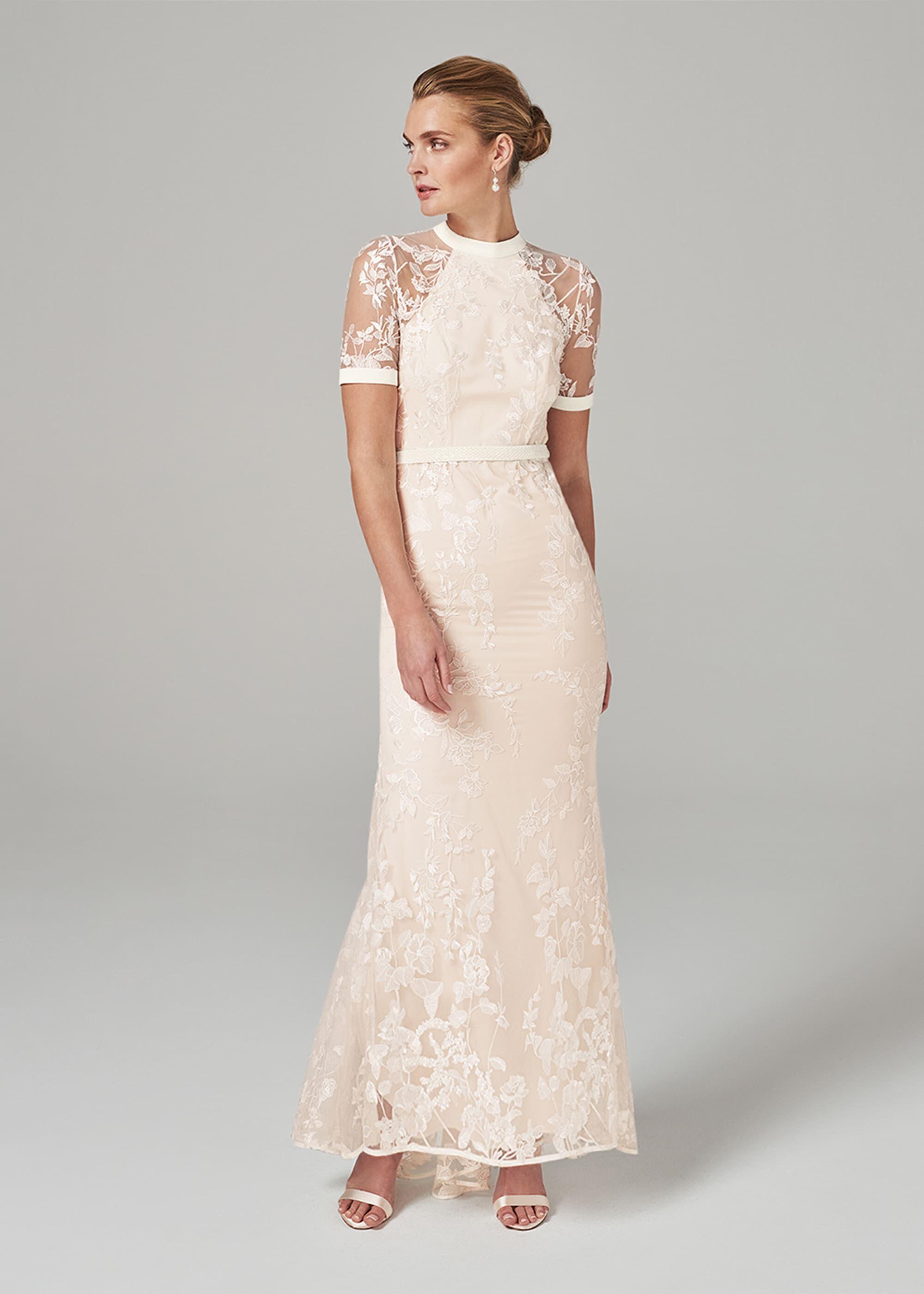 Poppy Embroidered Wedding Dress | Phase
