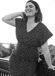 Natasha Spot Dress