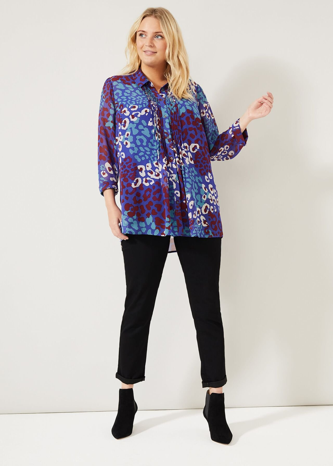 Alena Printed Shirt