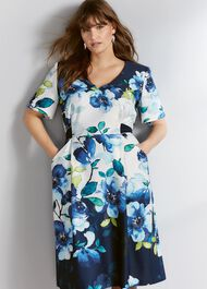 Anise Floral Dress