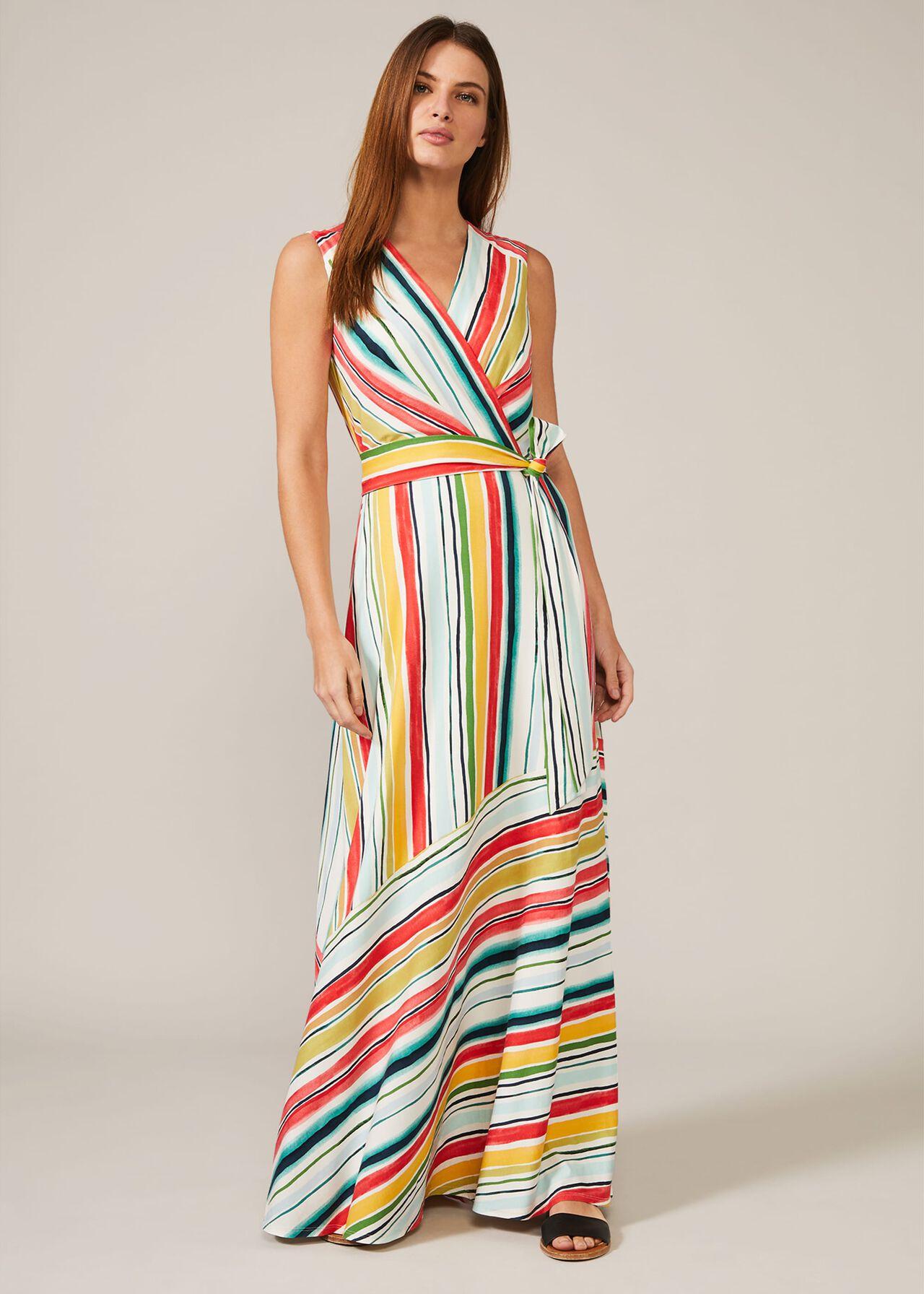 Mari Stripe Maxi Dress