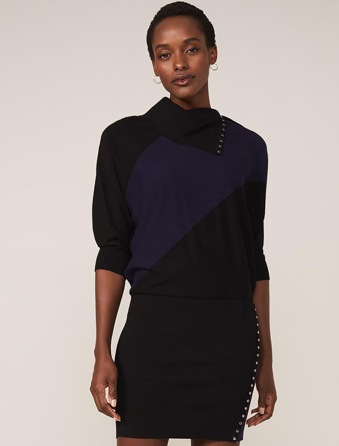 Becca Stud Colour Block Dress
