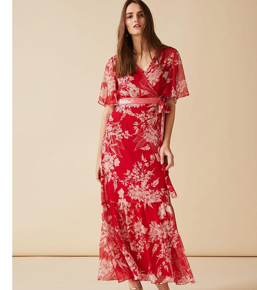 Amy Printed Maxi Dress