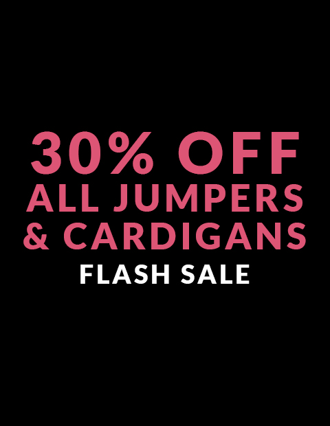 30% off Jumpers & Cardigans