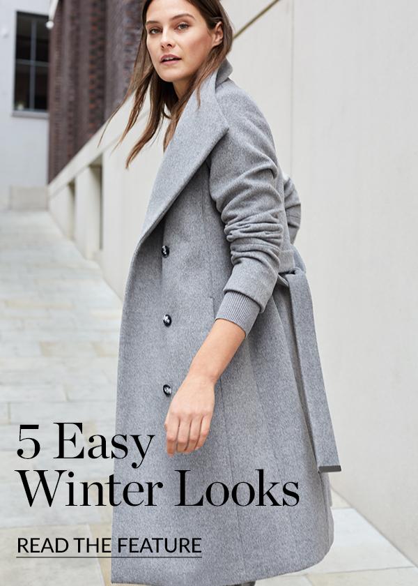 5 Easy Winter Looks