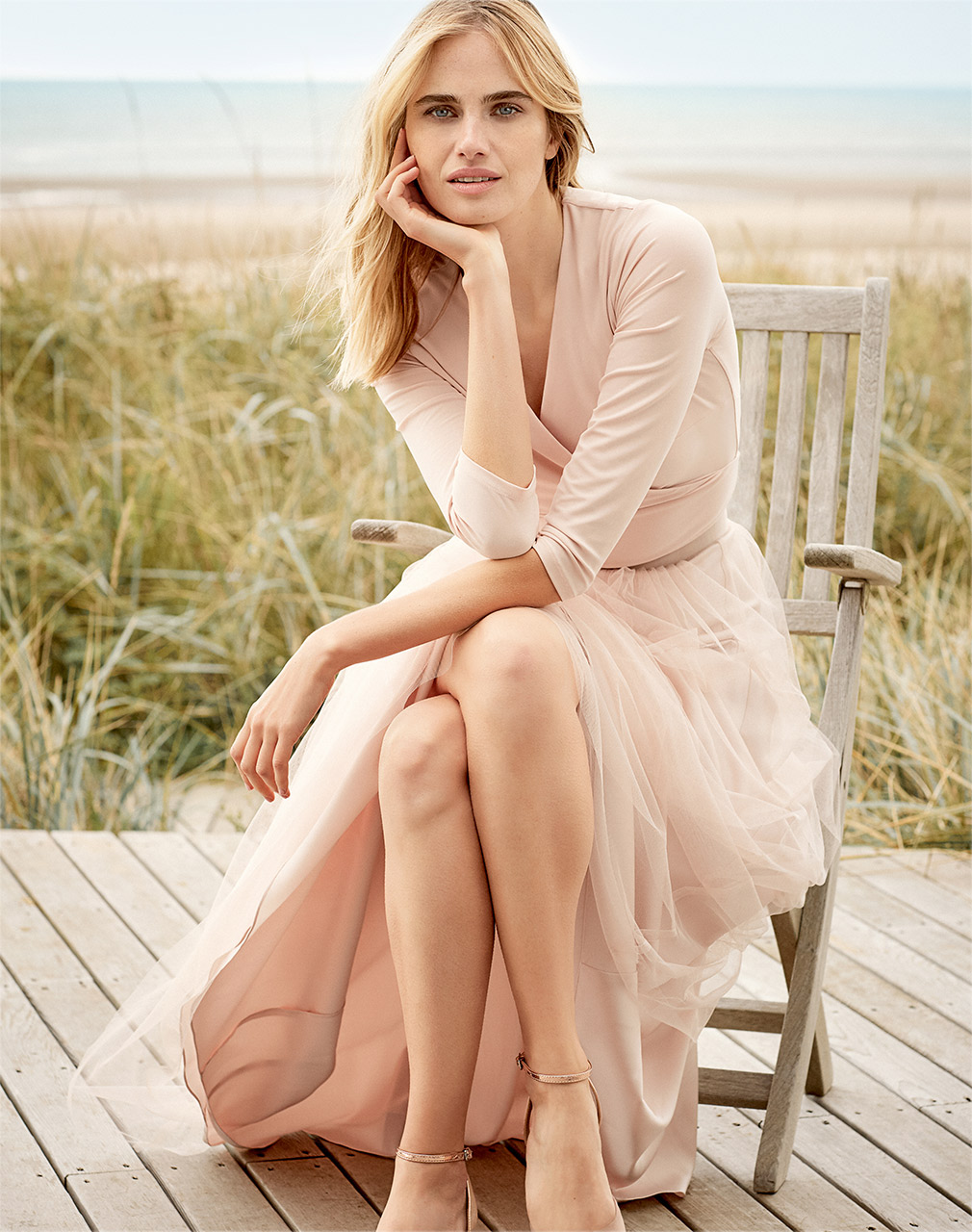 Monika Ballet Top £39 | Sinead Tulle Maxi Skirt £65