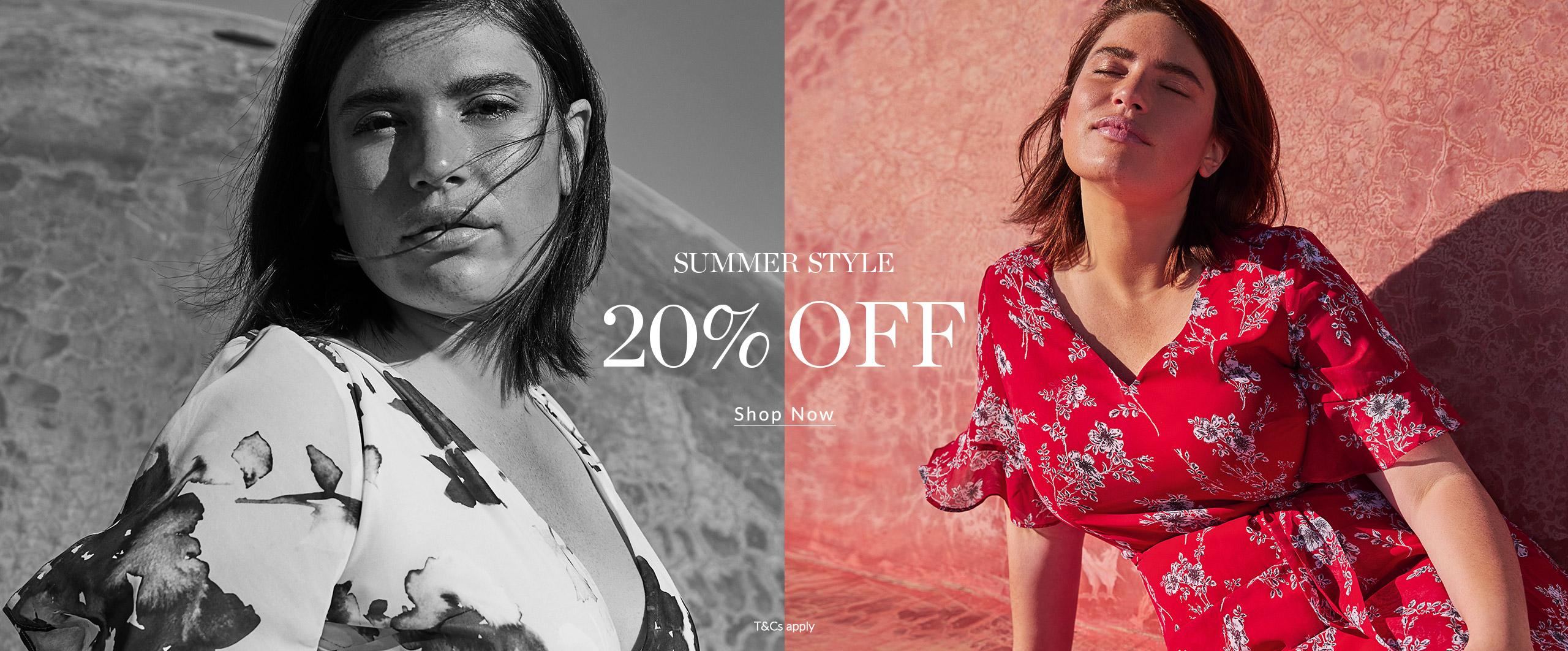 Shop Now 20% Off