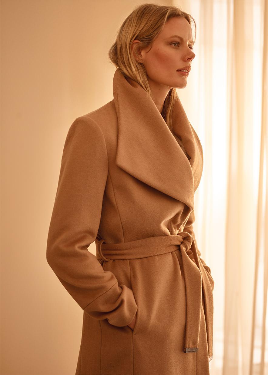 Nicci Belted Wool Coat £210