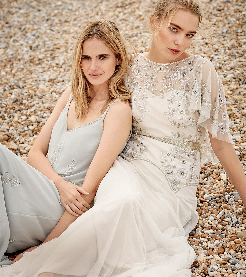 Agustina Dress £225 | Louise Bridal Dress £550