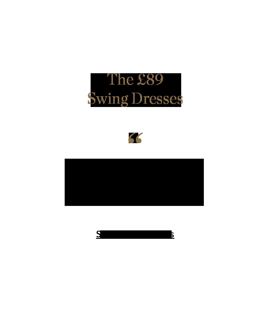 Shop Swing Dresses