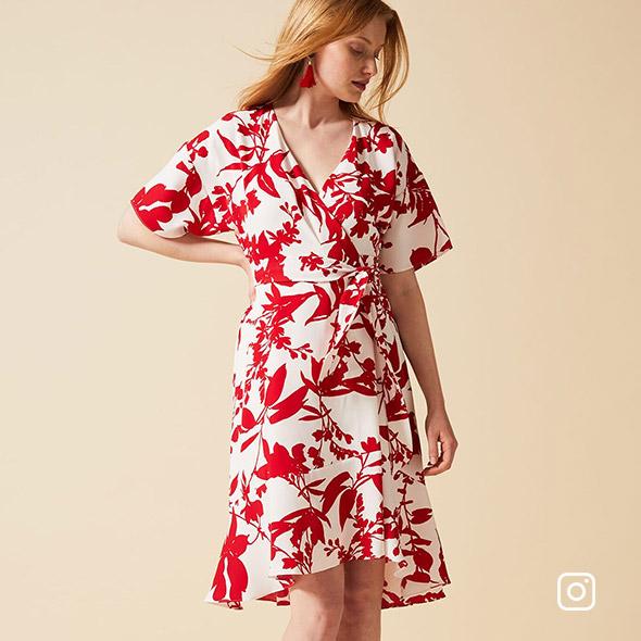 Celestine Wrap Dress