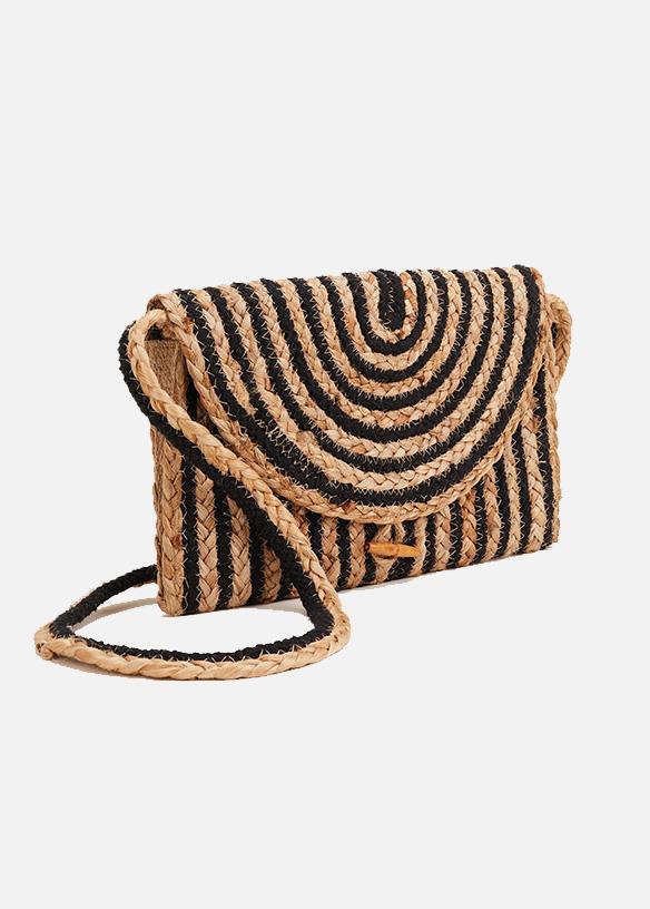 Claudia Cross Body Stripe Bag