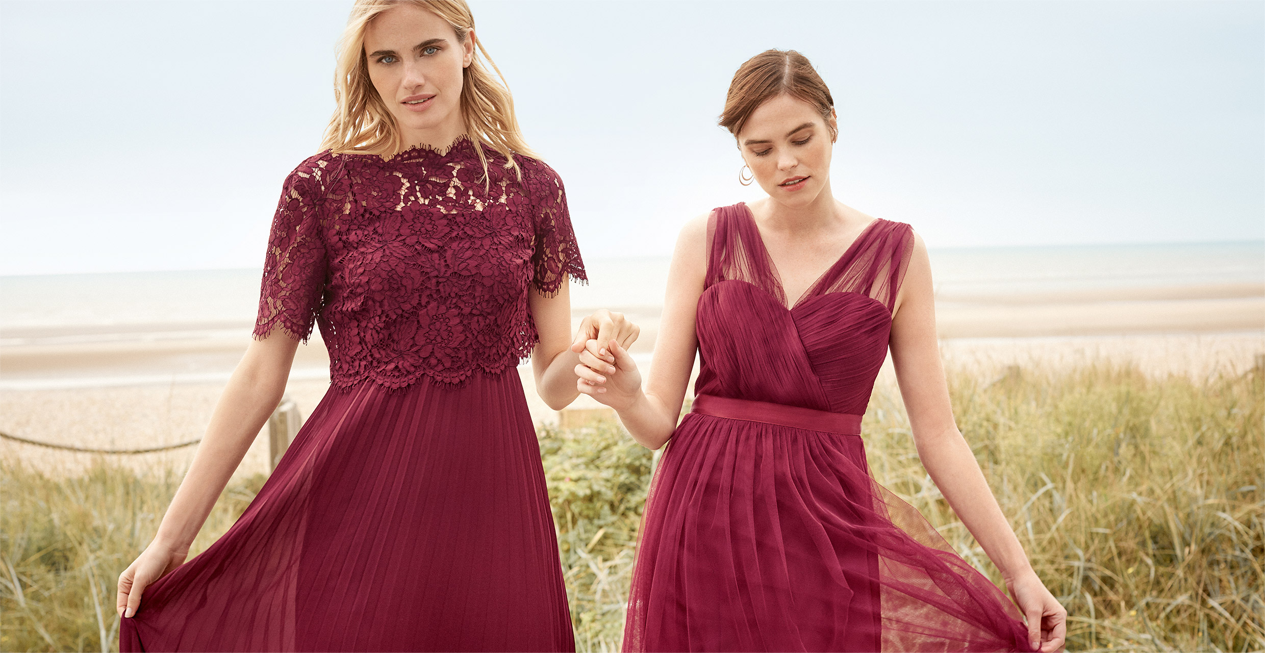 Elisabetta Dress £160 | Romy Tulle Dress £70