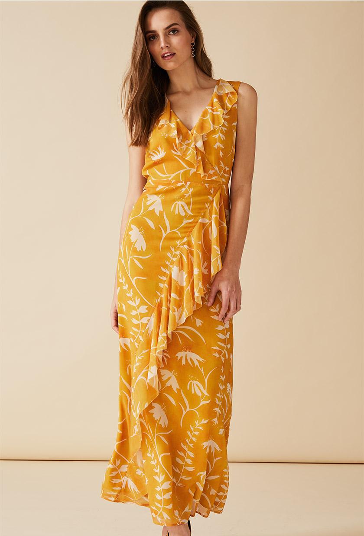 Natala Print Maxi Dress