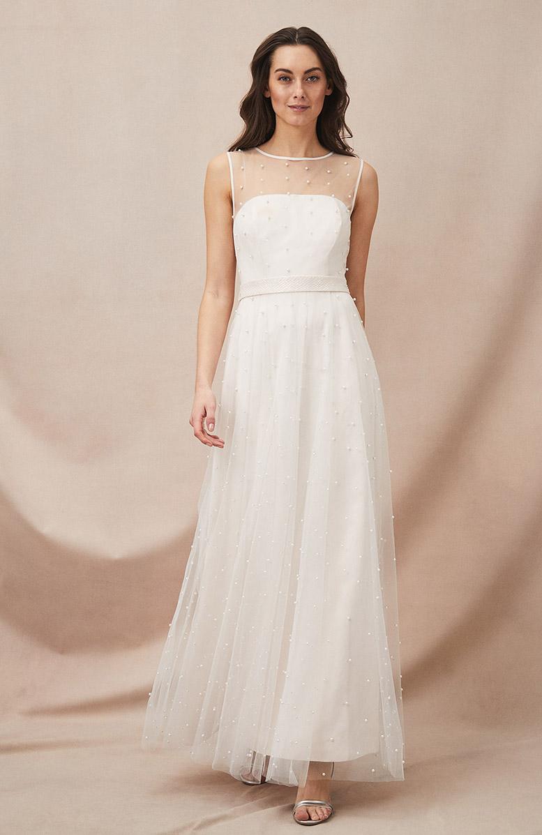 Genova Beaded Wedding Dress £350