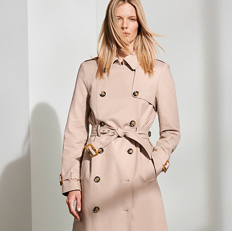 3 Ways to wear:  The Trench