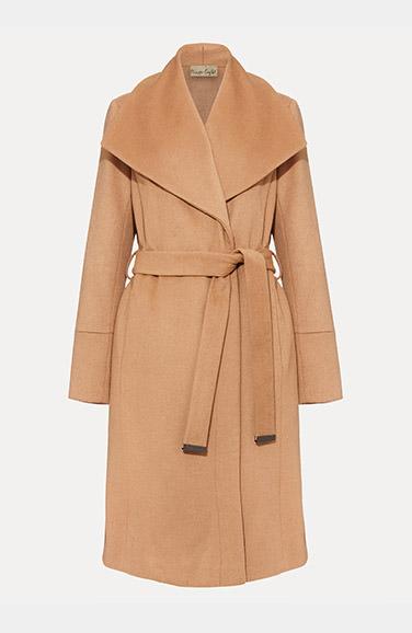 Shop Nicci Belted Wool Coat