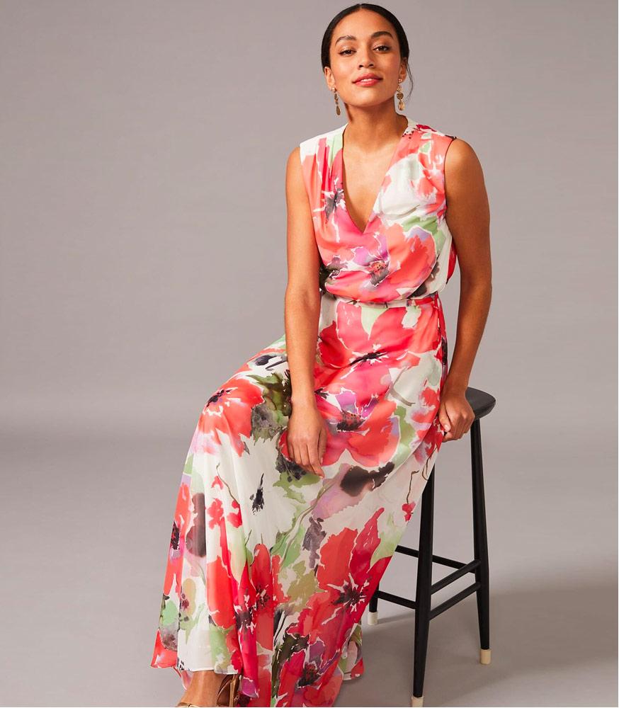 Theodora Floral Maxi Dress