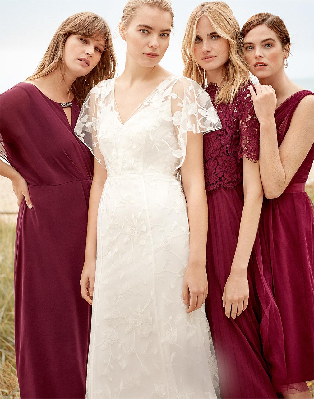 Layla Bridal Dress £450 | Elisabetta Dress £160 | Romy Tulle Dress £70