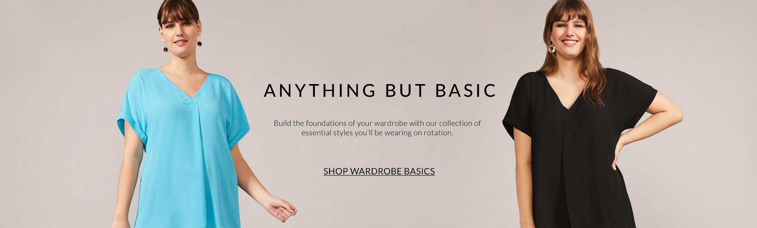 Shop Wardrobe Basics